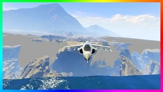 WHAT HAPPENS WHEN YOU REACH THE 'REAL' END OF THE GTA 5 MAP!? (GTA V END OF THE WORLD)
