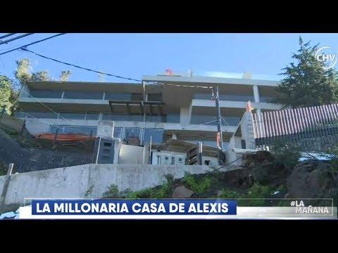 Detalles de la millonaria casa de Alexis Sánchez  - LA MAÑANA