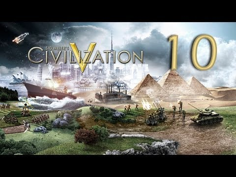 Let's Learn Civilization V -10- Diplomacy & Civilopedia