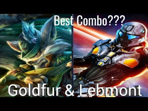 Heroes Of Order & Chaos! LEBMONT!!! 3v3 (PvP)