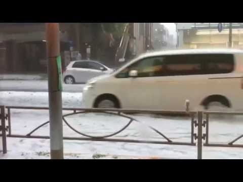Severe Hail Storm Slams Tokyo, Recap and Forecast