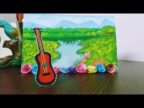 Mini Guitar 🎸| DIY Ideas