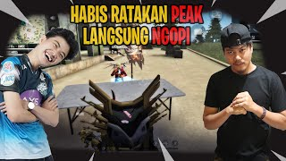 DUO VS SQUAD Ft  EVOS MR05 HABIS RATAKAN PEAK LANGSUNG NGOPI!!!