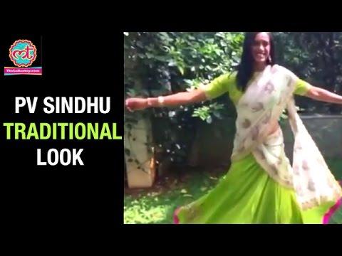PV Sindhu TRADITIONAL