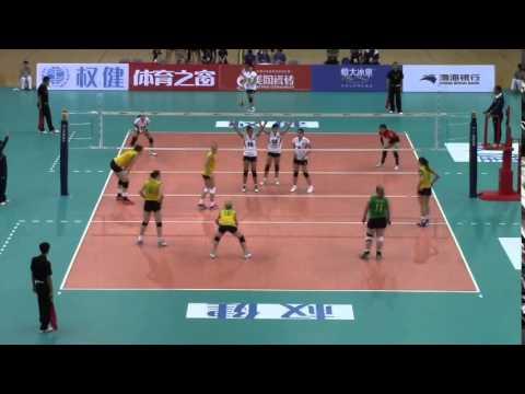 AUSTRALIA VS HONG KONG   Asian Senior Volleyball Championships 2015