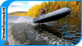 Тест НДНД лодок на водохранилище - Рыбалка, волны, ветер. Лодки ПИЛОТ и ЛОЦМАНс НДНД.