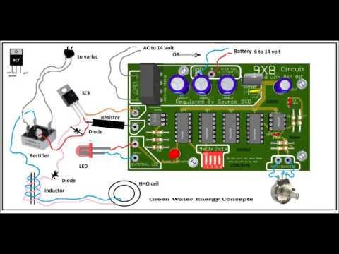 Stan Meyer Circuit plug and play, almost