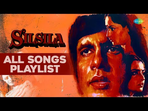 Silsila 1981  All Songs  Amitabh Bachchan, Jaya Bhaduri & Rekha  Audio Juke Box
