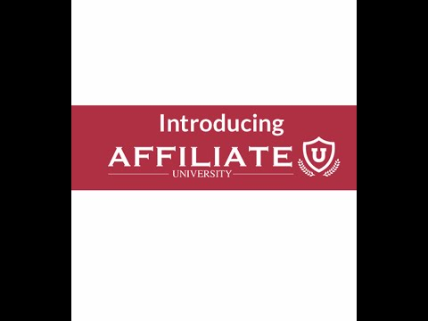AffiliateU Review Part 1 - Tim Schmidt - By Will Nelson