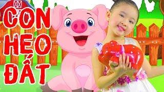 Con Heo Đất 🐷Bắc Kim Thang 🐷 Nhạc Thiếu Nhi Vui Nhộn Cực Sôi Động 🐖 Bé Candy Ngọc Hà