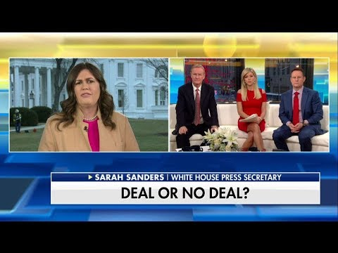 Sanders: Trump Won't Agree to Bad DACA Deal 'Just for the Sake of Signing Something'