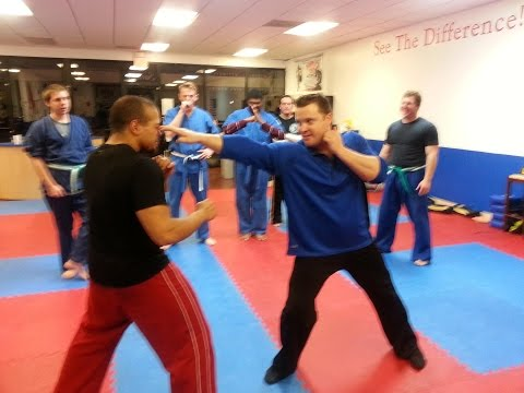 Jun Fan/ Jeet Kune Do Training Methods Class with Sifu Billy Brown