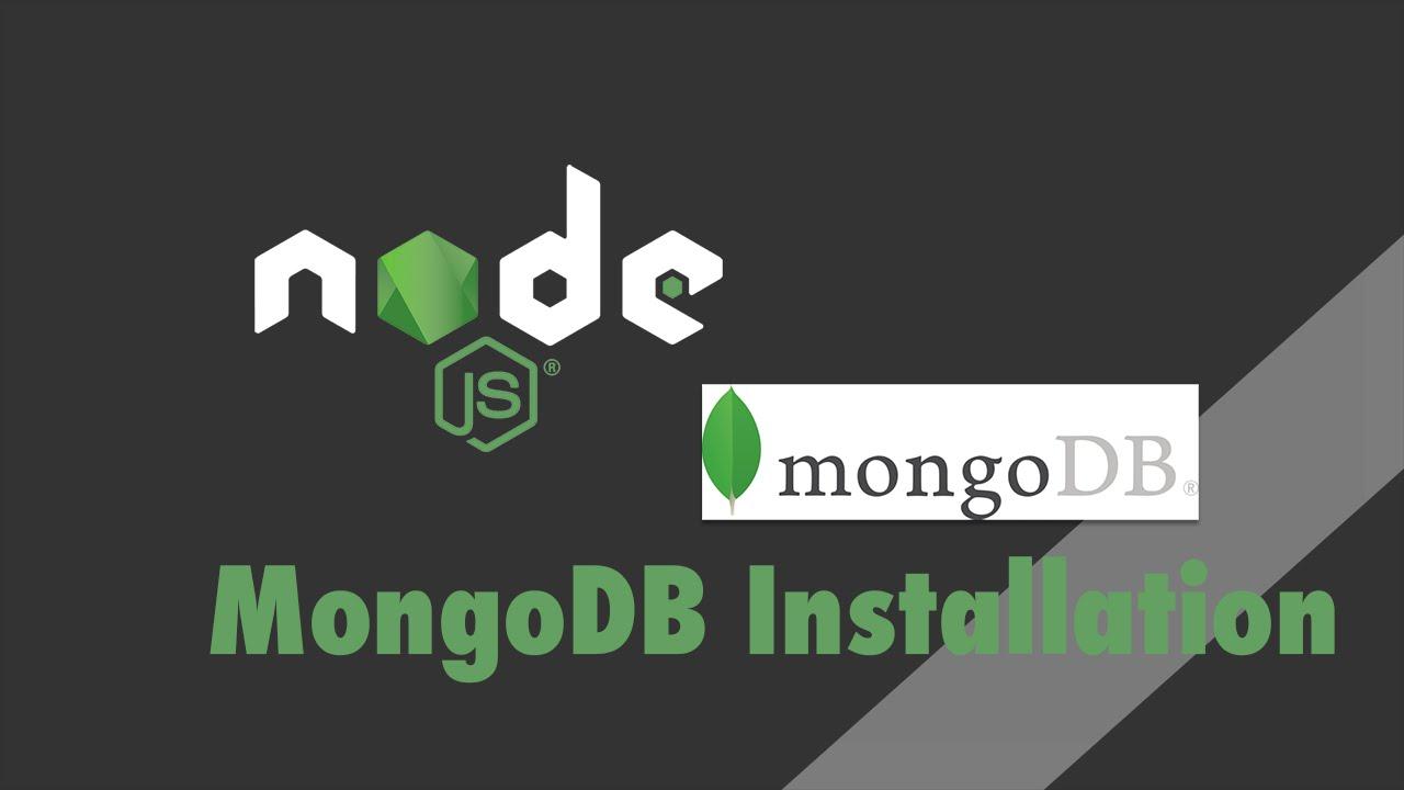 Node js + Express - Tutorial - Setup MongoDB