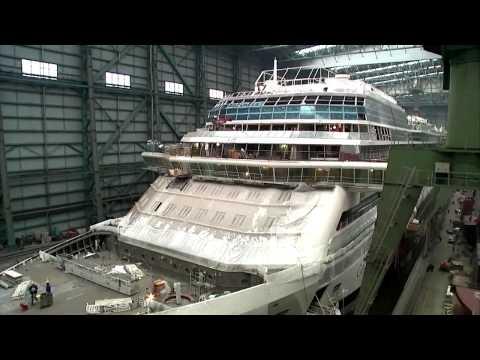 Eine starke Partnerschaft: Celebrity Cruises und die Meyer Werft