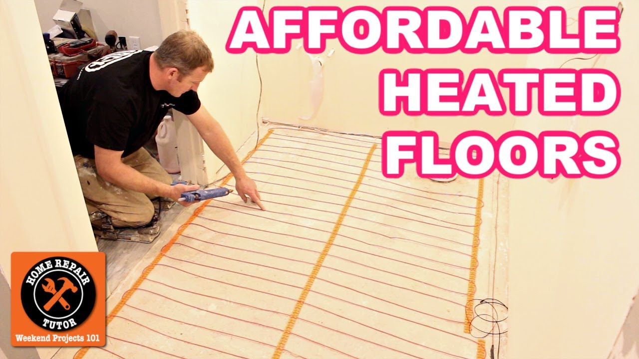 Best Affordable Heated Floor System