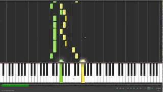 How to play Grounds for Divorce on piano synthesia HD