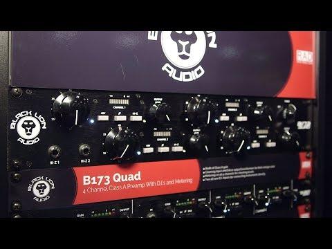 Black Lion B172 Quad - AES 2018