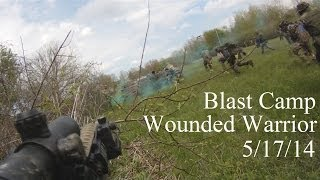Blast Camp Wounded Warrior 2014