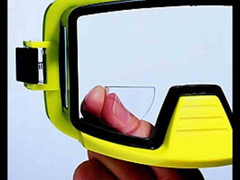Stick on lens for Dive Masks