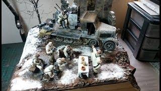 "8 Ton Flakvierling ""War & Faith"" Diorama Build"