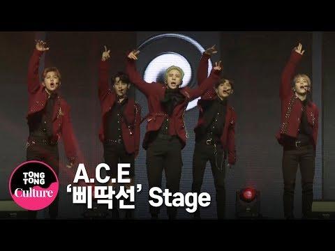 A.C.E (에이스) '삐딱선'(SAVAGE) Showcase Stage 쇼케이스 무대 (준, 동훈, 와우, 김병관, 찬) [통통TV]