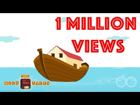 Noah's Ark And The Flood | Book Of Genesis I  Children's Bible Stories | Holy Tales Bible Stories