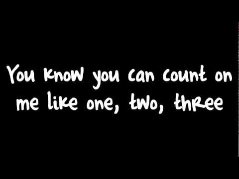 Count On Me - Bruno Mars Lyrics