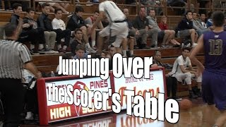 Jumping Over the Scorer's Table, UA Holiday Classic, 12/28/16