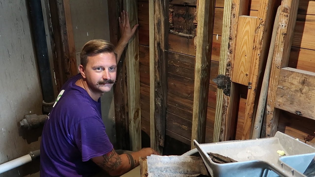 Bathroom DIY Renovation Update & Husband Doesn't Laugh At Wife's Jokes |  Home Vlog
