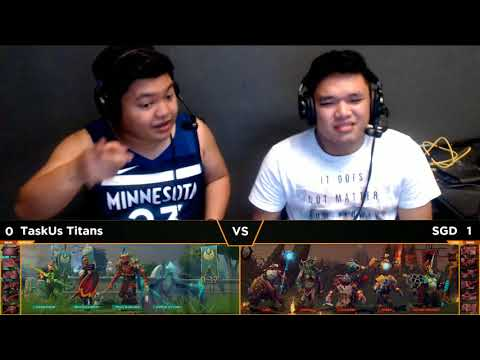 TaskUs Titans vs SGD Game 2 | The International 8 SEA Open Qualifiers #2 Battle for 3rd Slot