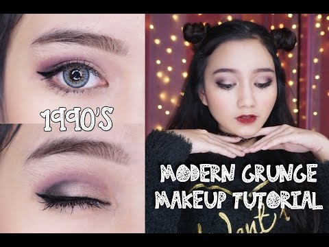 Modern 90's Grunge Makeup Tutorial