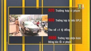 Số liệu thống kê phạt nguội qua hệ thống camera giám sát giao thông | Tin nóng | Nhật ký 141