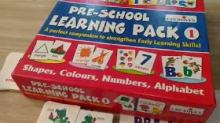 Creative Educational Aids 1007 Pre-School Learning Pack: Unboxing & Review