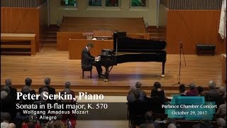 peter serkin piano mozarts sonata in b flat major k 570