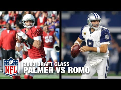 Carson Palmer & Tony Romo: Comparing the Top & Bottom of the 2003 Draft Class | NFL