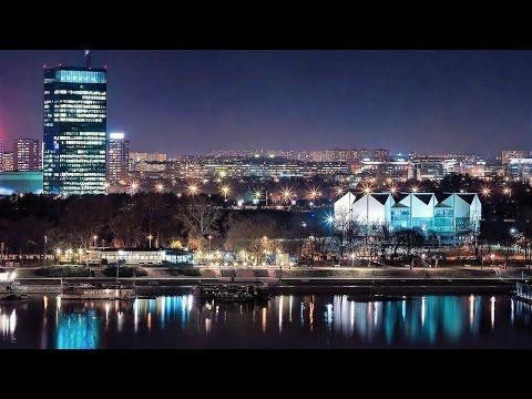 Belgrade, Serbia at Night