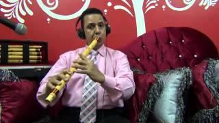 موسيقي يا اما القمر علي الباب عزف صابر كوله صانع الناي والكوله تليفون 01223344078