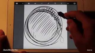 Sketchbook Pro Drawing App Speed Test On Ipad Air Vs Ipad 3