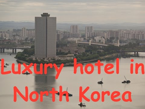 My trip to North Korea, DPRK - first day, arrival at Yanggakdo International Hotel