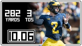 Shea Patterson Full Highlights Michigan vs Maryland || 10.06.18 || 282 Yards, 3 TDs