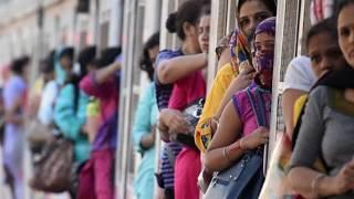 #MUMBAI LOCAL TRAIN RUSH IN PEAK HOURS