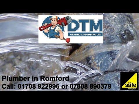 DTM Plumber Romford - 01708 922996