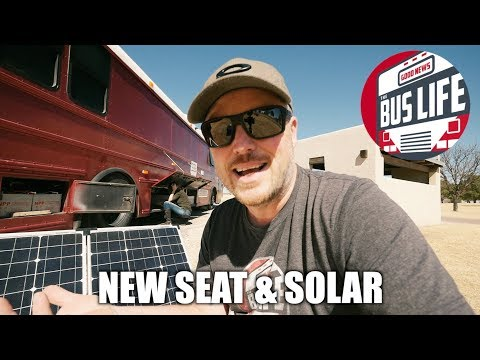 Meetup, Seat, Electrical, & Solar | The Bus Life