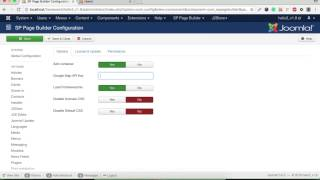 How to set google MAP API Joomla SP Page Builder Free HD Video