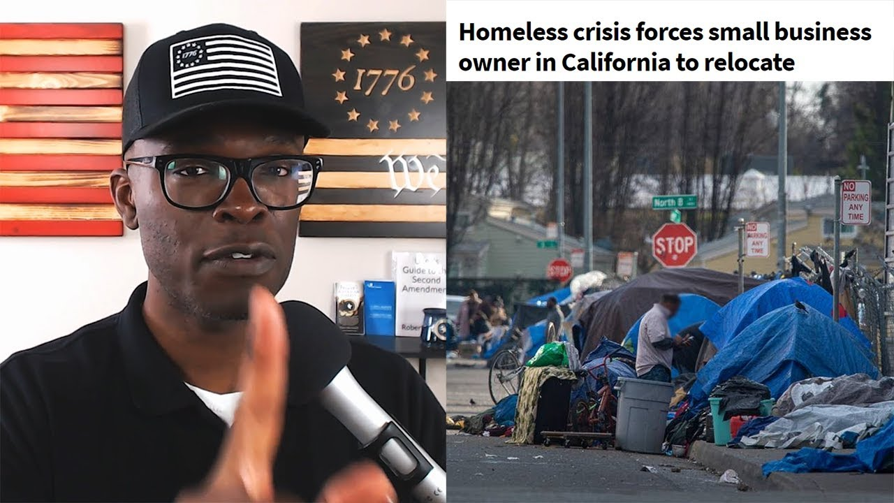 ABL California Business Owner EXPOSES Deplorable City Conditions!