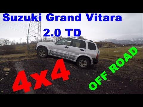 Un scurt review off road Suzuki Grand Vitara 4x4