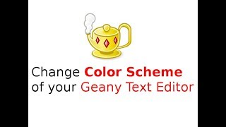 Change the Color Scheme of your Geany Text Editor