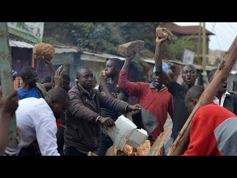 Kenya police clash with protesters in town of Kisumu