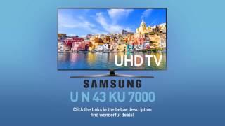 SAMSUNG UN43KU7000 ( KU7000 ) 4K UHD TV // FULL SPECS REVIEW #SamsungTV
