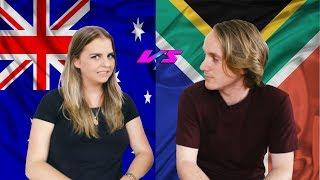 AUSTRALIA vs SOUTH AFRICA!